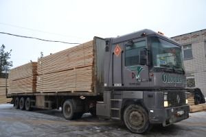 Producing and realization of lumber in Vologda